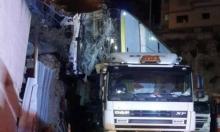 الناصرة: حافلة انقلبت على شاحنة