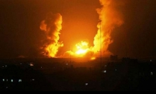 غزة: طيران الاحتلال يقصف موقعين بالقطاع