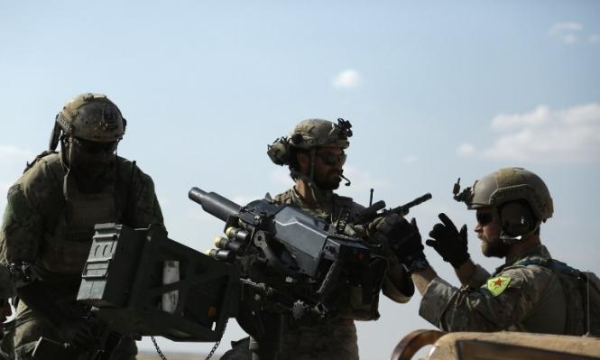 سورية: التحالف يطلب من القوات الأميركية نزع شارات المقاتلين الاكراد