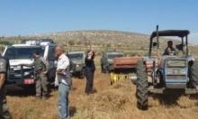 جنوبي جنين: الاحتلال الإسرائيلي يستولي على 12 جرارًا زراعيًا