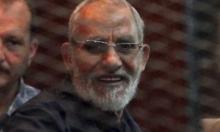 قضاء النظام المصري يحكم على مرشد الإخوان بالمؤبد