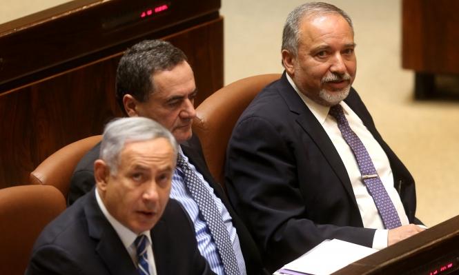 """""""البيت اليهودي"""": الحكومة ستسقط إذا اتجهت لحل الدولتين"""