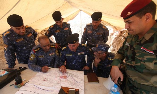 الفلوجة: القوات العراقية تتصدى لمقاومة عنيفة من الإرهابيين