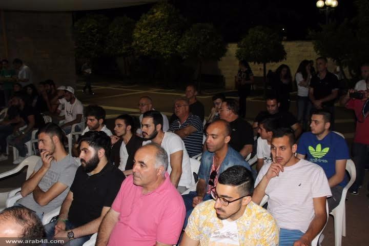 """""""عرب 48"""" يحاور الموسيقار العالمي سيمون شاهين"""