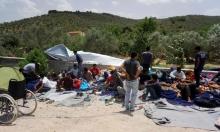 عمليات إنقاذ إثر غرق قارب ينقل مئات اللاجئين