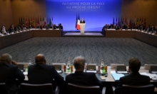 هولاند: مساعي السلام يجب أن تأخذ اضطرابات المنطقة بالحسبان