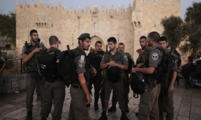 القدس: تعزيزات أمنية في ذكرى النكسة