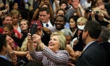 أنصار كلينتون يستعدون للاحتفال بنيلها ترشيح حزبها