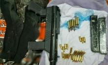 العثور على بندقية وذخيرة قرب الفريديس وقنبلة قرب إبطن