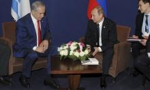 نتنياهو يطالب بوتين بحرية لطيرانه الحربي بسورية ولبنان