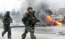 جيش الاحتلال يقتحم دير أبو مشعل ويصادر كاميرات مراقبة
