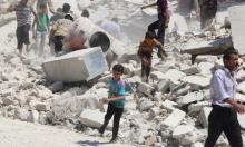 15 قتيلا في غارة جوية على مشفى بحلب