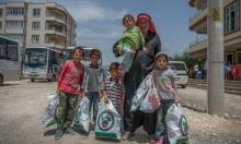 سوري يربي أحفاده الخمسة بعد وفاة والديهما
