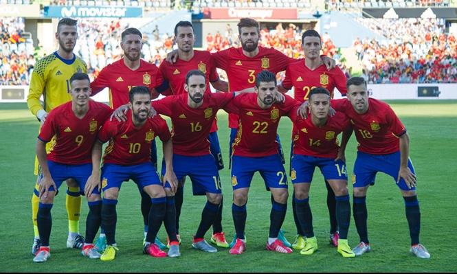 يورو 2016: بطاقة منتخب إسبانيا