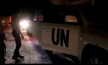 سورية: الأمم المتحدة تدخل قافلة مساعدات غذائية لداريا المحاصرة