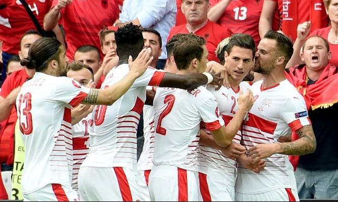 يورو 2016: سويسرا تتخطى ألبانيا بهدف دون مقابل