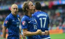 يورو 2016: مودريتش يقود كرواتيا للفوز على تركيا