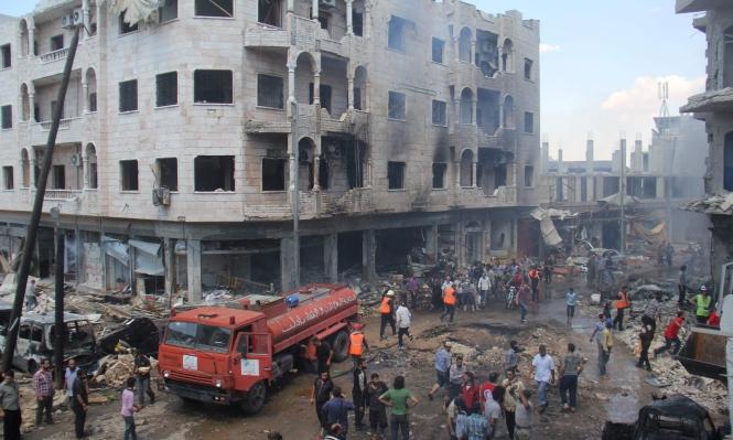 سورية: مقتل عشرات بإدلب والغارات تعيق توزيع المساعدات الإنسانية