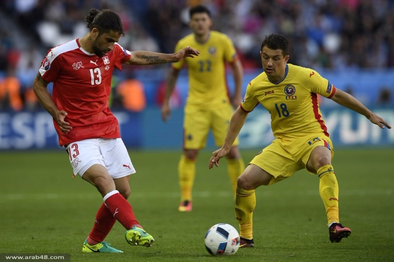 يورو 2016: سويسرا تقتنص نقطة ثمينة من رومانيا