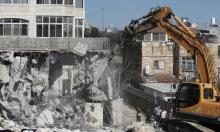 حصري: الحكومة الإسرائيلية تناقش خطة لهدم آلاف المباني العربية