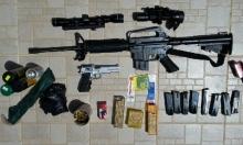 ضبط أسلحة ومفرقعات في بلدات عربية
