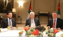 عباس يجري مباحثات مع الملك عبد الله في عمان