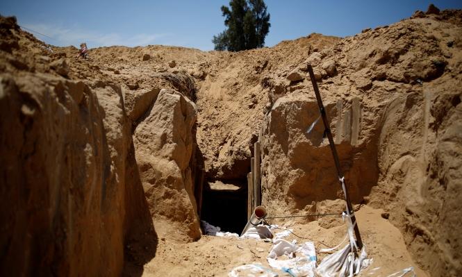 إسرائيل تقرر بناء جدار تحت الأرض على حدود غزة