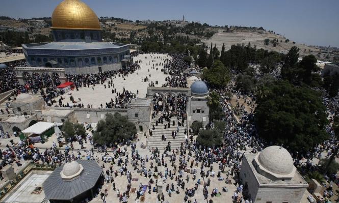 200 ألف بصلاة الجمعة الثانية من رمضان بالمسجد الأقصى