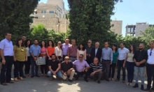 اللجنة المركزية للتجمع تزور الأسيرة المحررة النائبة خالدة جرار