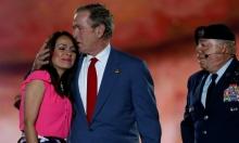 جورج بوش يعود للسياسة من جديد