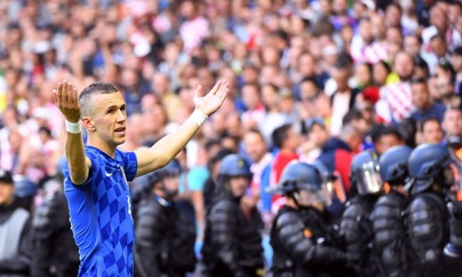 شغب اليورو: الكرواتي بيريسيتش يهاجم جماهير بلاده