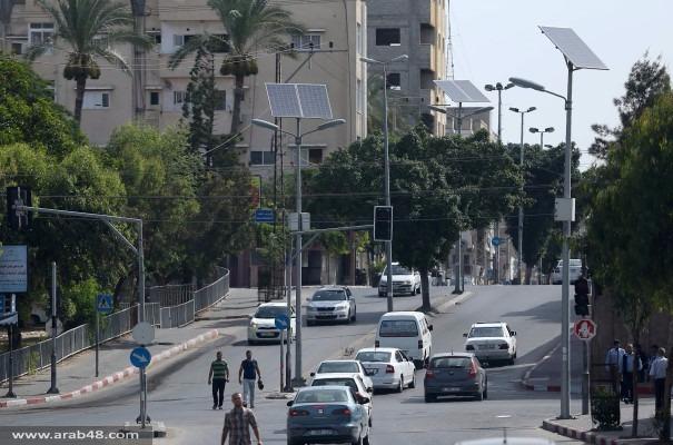 غزة تتغذى على الطاقة الشمسية لتفادي أزمة الكهرباء