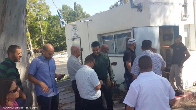 التحقيق مع متولي أوقاف حيفا المحامي دغش