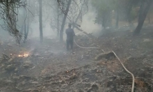 عرب الشبلي: إخماد حريق هائل