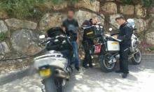 30 مخالفة لسائقي السيارات في كفر ياسيف والمنطقة