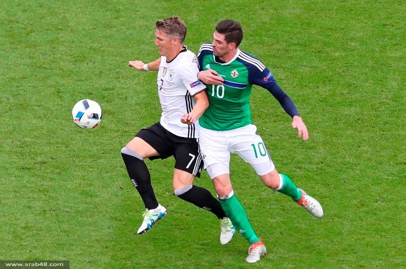 يورو 2016: ألمانيا تضمن تأهلها بفوزها على إيرلندا الشمالية