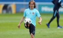 يورو 2016: مودريتش قد يغيب عن مواجهة إسبانيا