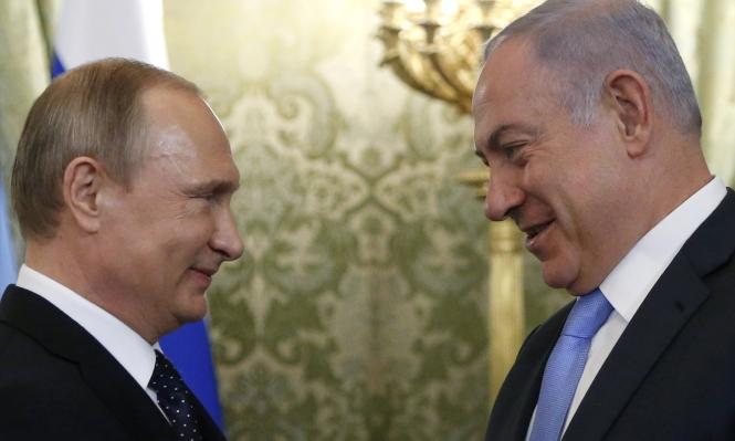 نتنياهو وبوتين يبحثان التسوية مع الفلسطينيين هاتفيًا