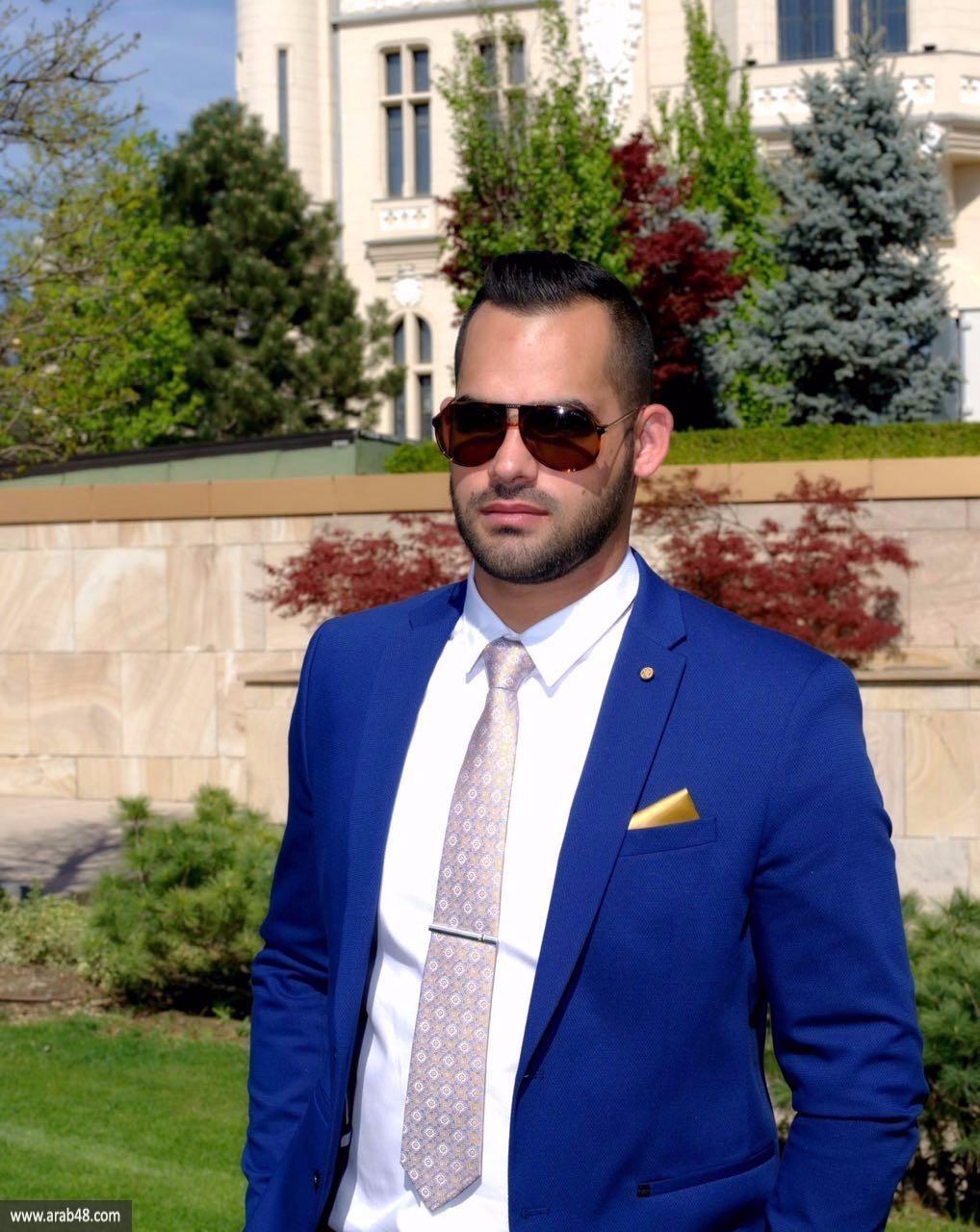 والدا طالب الطب المرحوم مجدي سالم يتسلمان شهادته