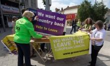 مؤيدو ومعارضو خروج بريطانيا من الاتحاد الأوروبي يتبادلون الاتهامات