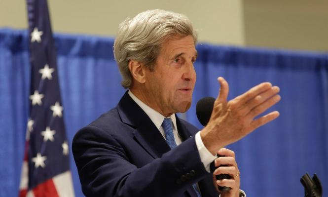 كيري التقى بدبلوماسيين أميركيين نادوا بقصف ضد النظام السوري