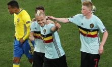 بلجيكا تجرد السويد من بطولة أمم أوروبا