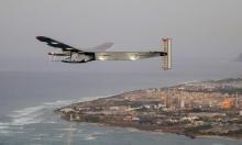 طائرة شمسية تعبر الأطلسي دون قطرة وقود (صور)