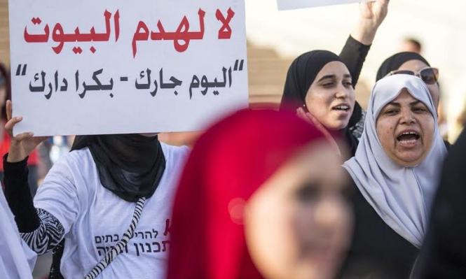 جبارين: خطة الهدم تستهدف مساكن نصف مليون عربي