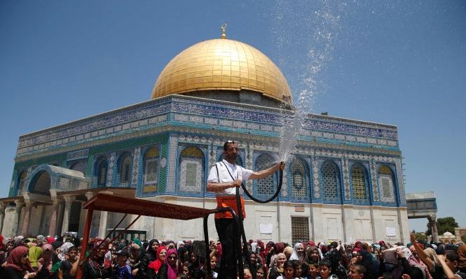المسجد الأقصى: ربع مليون أدوا صلاة الجمعة الثالثة برمضان
