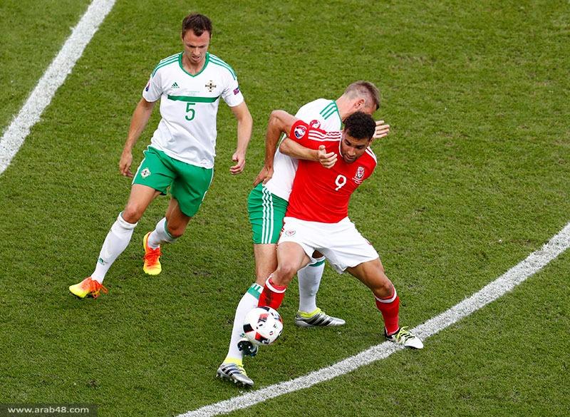 هدف ذاتي يطيح بإيرلندا الشمالية ويمنح التأهل لويلز
