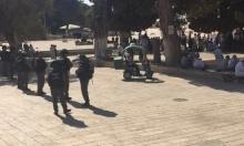 المسجد الأقصى: إصابة 7 فلسطينيين باقتحام قوات ومستوطنين