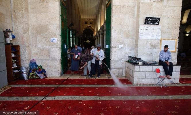 35 مصابًا في اقتحام الاحتلال للمسجد الأقصى اليوم