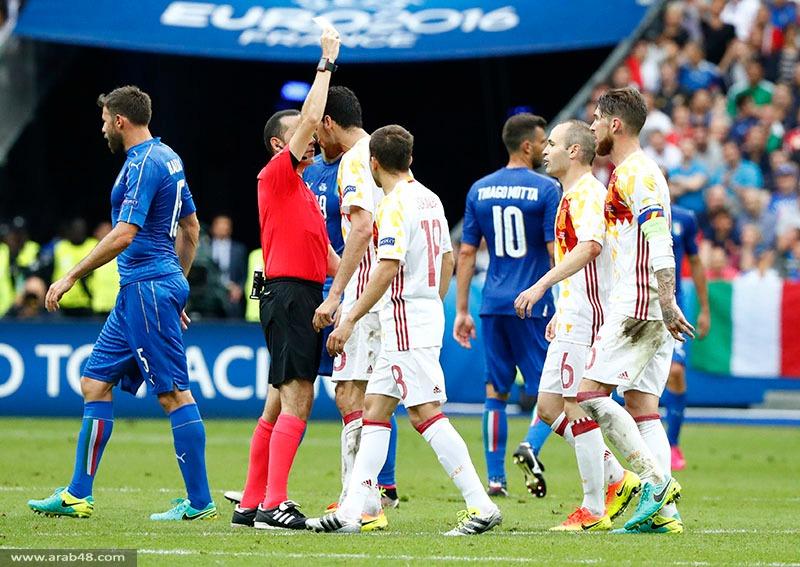 يورو 2016: إيطاليا تجرد حاملة اللقب وتتأهل لربع النهائي