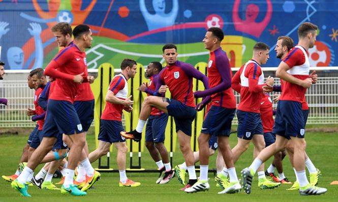 يورو 2016: التشكيلة المتوقعة لمباراة إنجلترا وأيسلندا